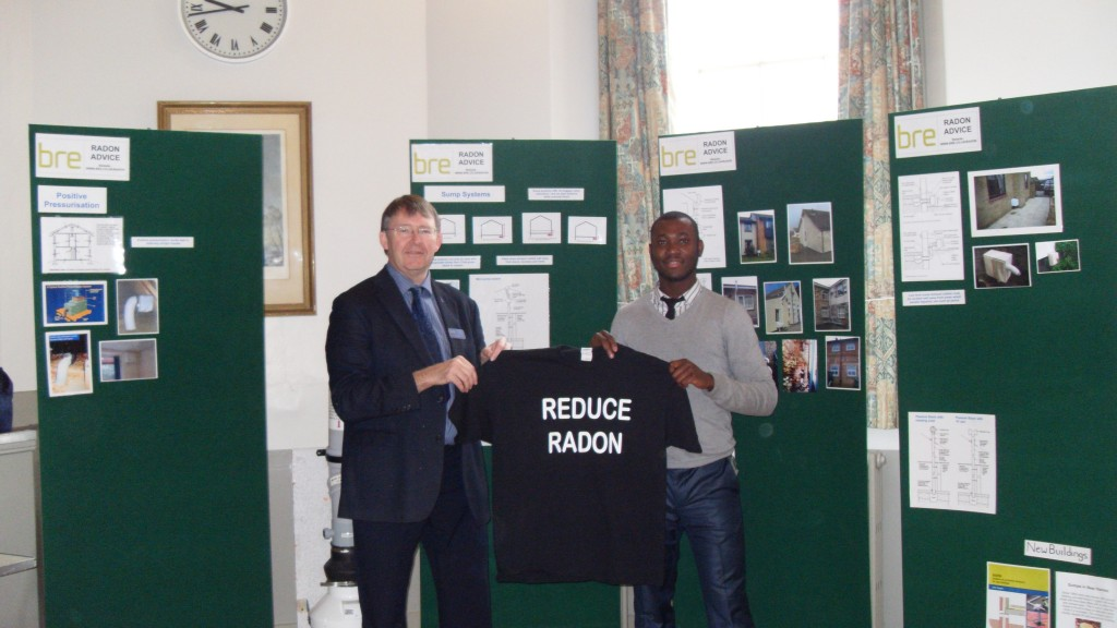 Radon Tee with Chris Scivyer & Felix Ahatty of BRE