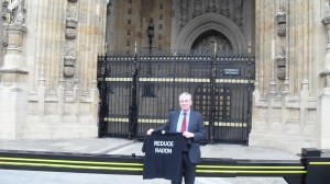 Radon Tee at House of Lords