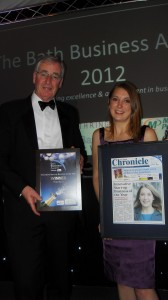 propertECO win Innovative Start Up Company at the 2012 Bath Business Awards