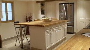 Basement Conversion - Luxury Kitchen with Radvantage System
