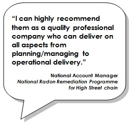 I can highly recommend them as a quality professional company who can deliver on all aspects from planning/managing to operational delivery