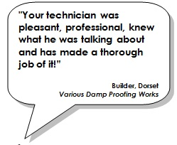 Your technician was pleasant, professional, knew what he was talking about and has made a thorough job of it!