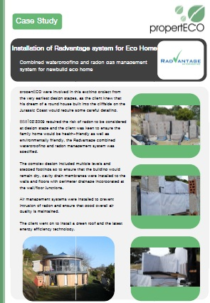 Radvantage Eco Home Case Study