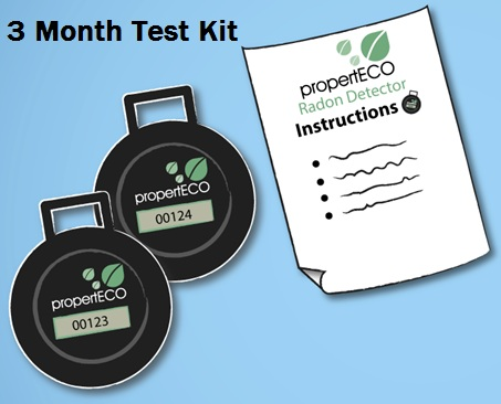 Special offer 1 week only buy a radon test kit for 28 properteco - The office radon test kit ...