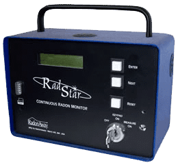 Radstar radon monitor
