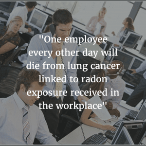 Workplace Radon Deaths quote