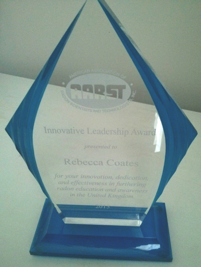 Rebecca Coates - AARST Innovative Leadership Award