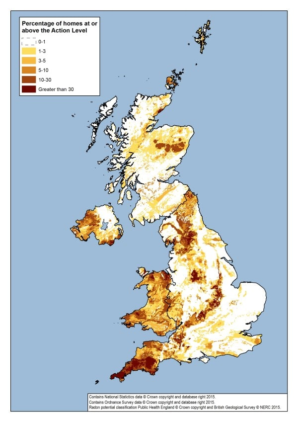 Radon Map With Key