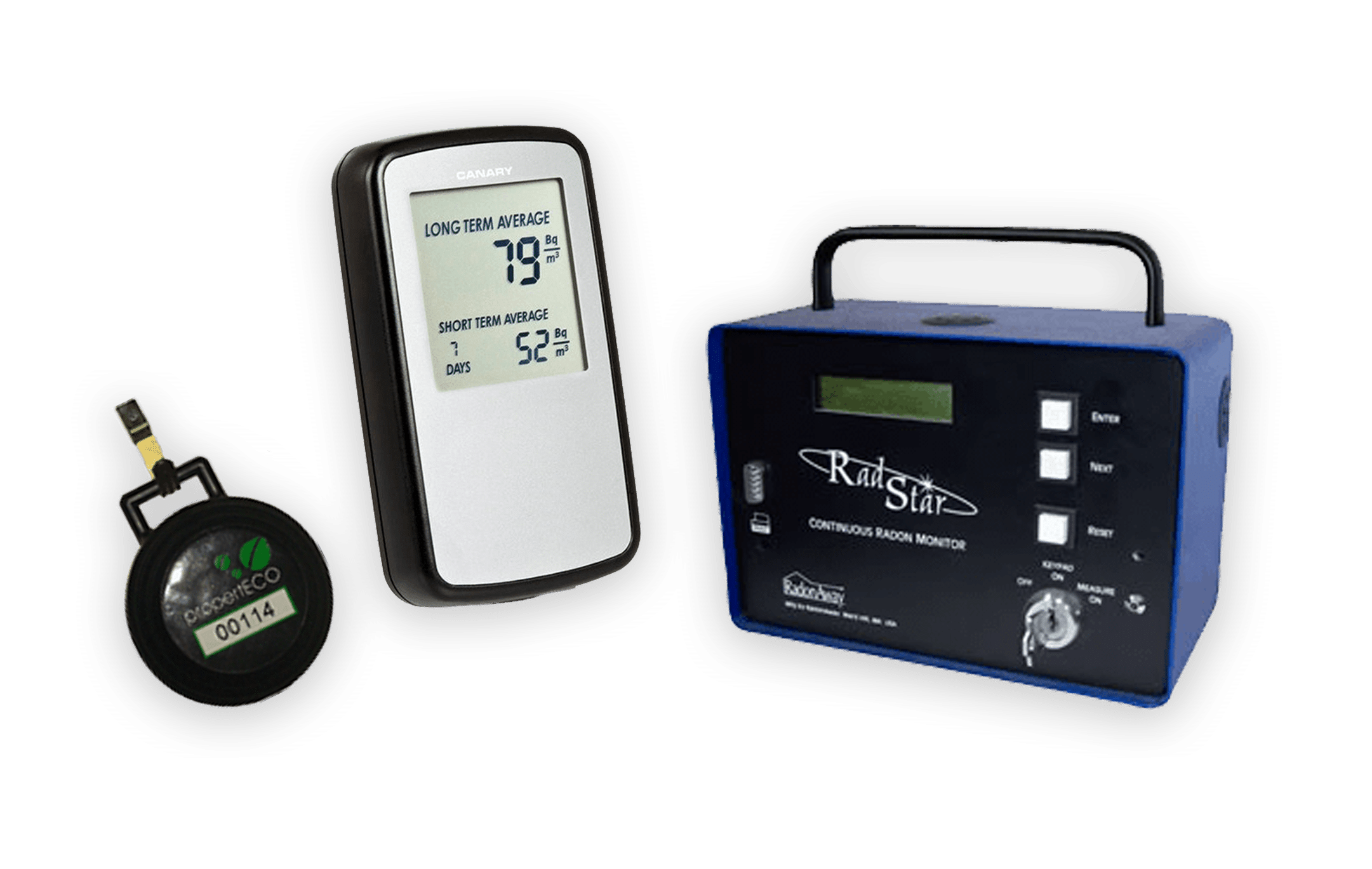 Properteco Radon Meters