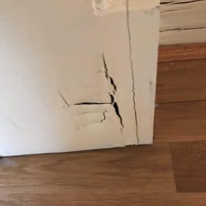 Cracks in walls