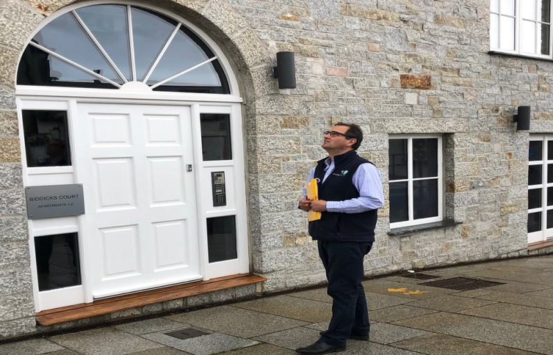 Radon survey being carried out